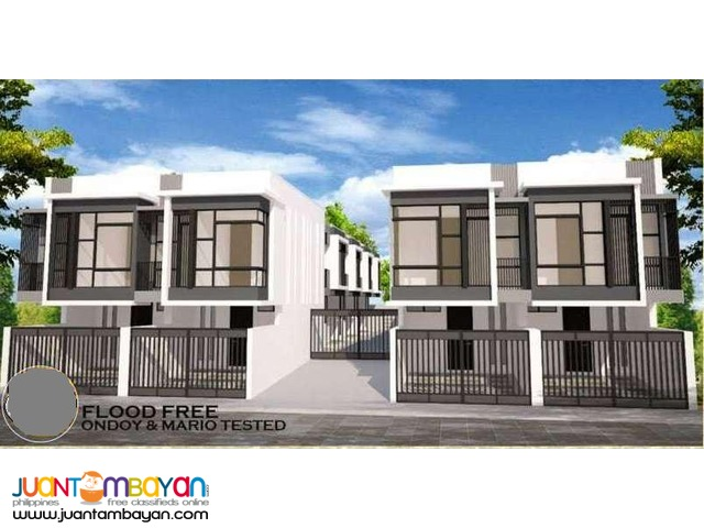 PH393 Townhouse in Marikina City at 3.3M