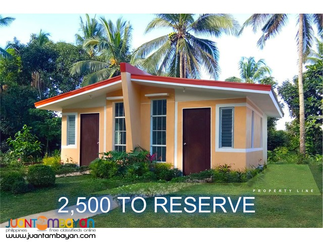 low cost house and lot in santo tomas batangas thru pagibig financing