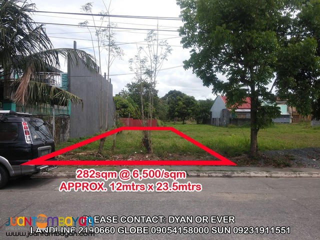 Lot for Sale in Greenlnd Newtown Ampid near Clubhouse