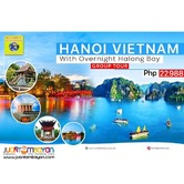 4D3N Hanoi-Halong Tour Package with Airfare