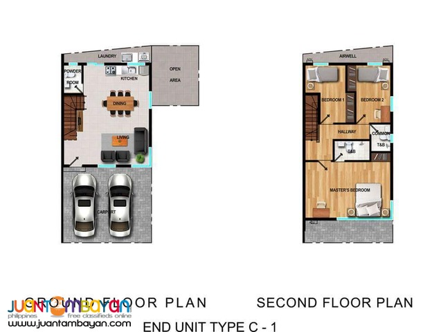 FOR SALE THREE BEDROOM TOWNHOUSE AT ESPLORA ANTIPOLO CITY