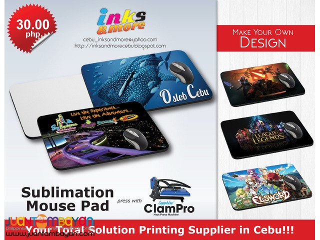 PERSONALIZED PRINTING BUSINESS - MOUSE PAD
