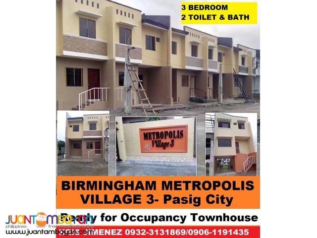 BIRMINGHAM METROPOLIS VILLAGE 3 PASIG CITY