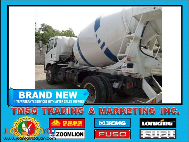 New 10 Wheeler HOWO-A7 Mixer Truck, 371HP