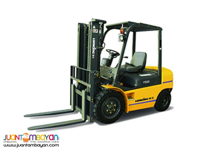 LONKING Brand Forklift 1.5 Tons to 16 Tons Capacity