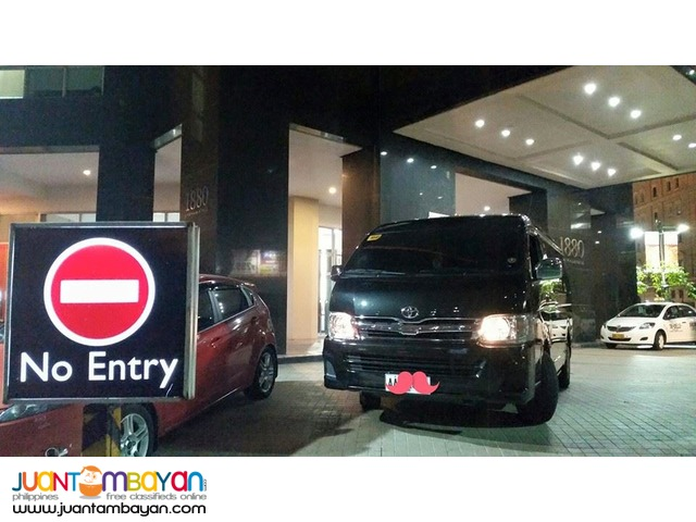 Van for Rent Toyota Grandia GL with Official Receipt