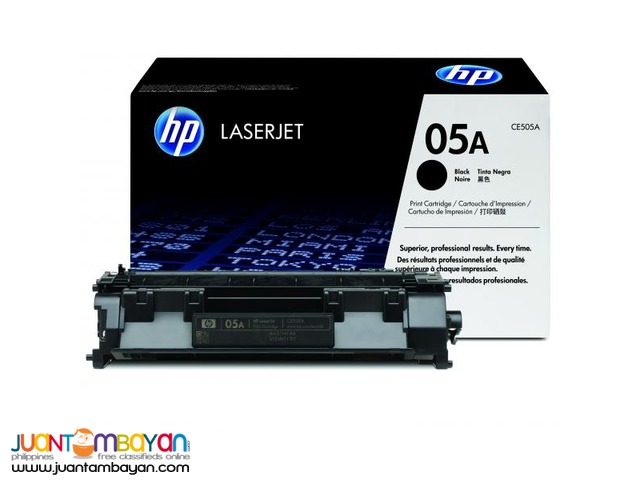 Available Brand New HP Toner Laserjet Cartridge CE505A