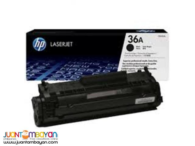 Available Brand New HP Toner Laserjet Cartridge CB436A