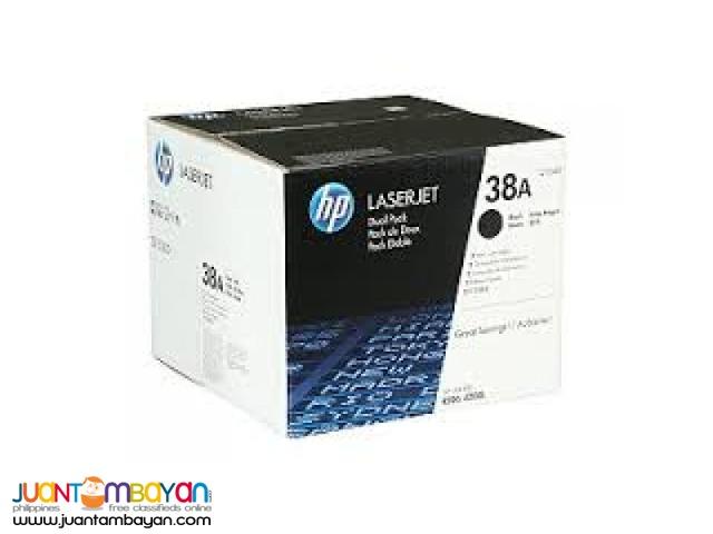 Available Brand New HP Toner Laserjet Cartridge Q1338A
