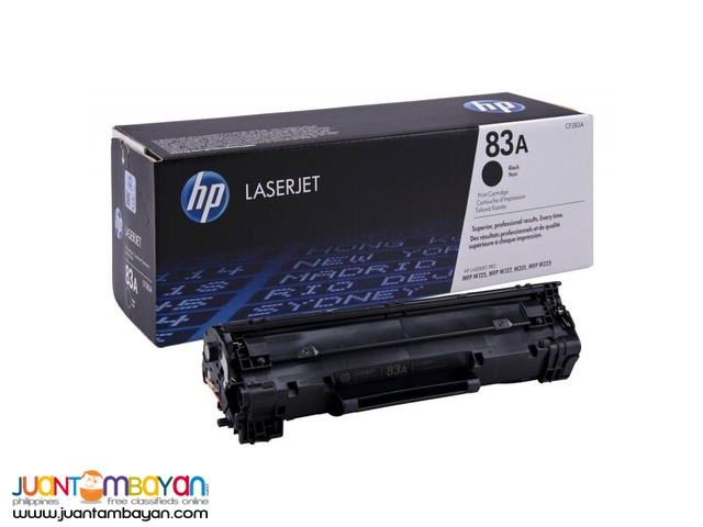 Available Brand New HP Toner Laserjet Cartridge CF283A