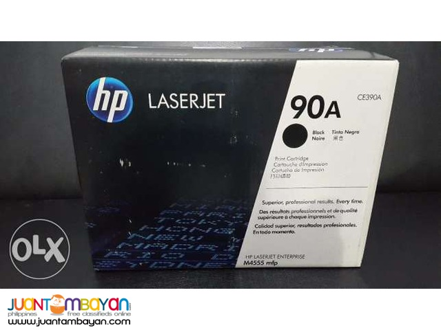 Available Brand New HP Toner Laserjet Cartridge CE390A