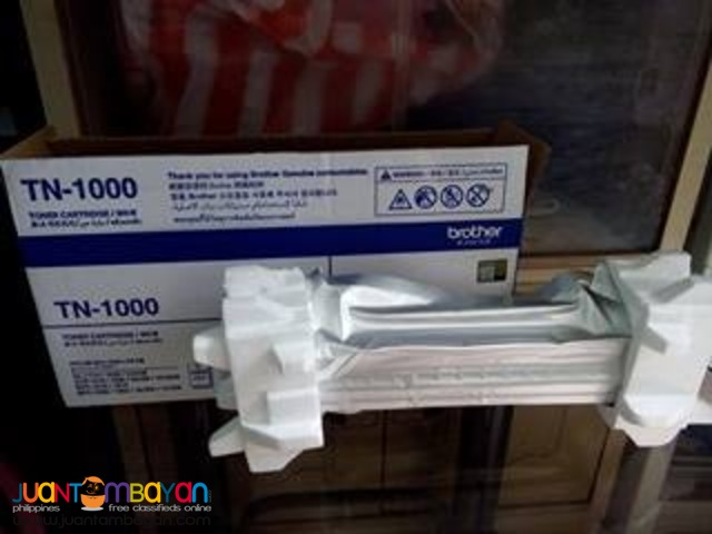 Available Brand New Brother TN1000 Toner Laserjet Cartridge