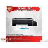 Epson L120 A4 size 4 colors Printer with CISS and INK