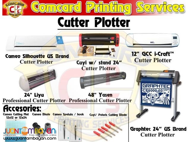 Cuyi Cutter Plotter And Mg 630 Complete Set