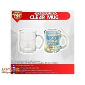 CLEAR MUG FOR SUBLIMATION PRINTING (Quaff)
