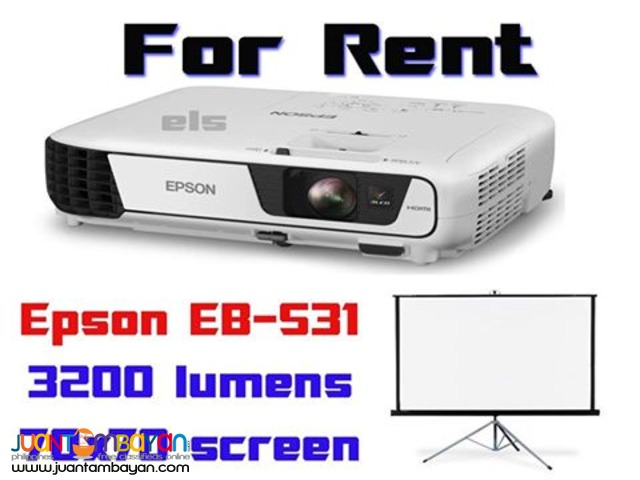 PROJECTOR FOR RENT