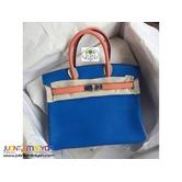 Hermes Birkin Bag Blue Hydra - HERMES BIRKIN