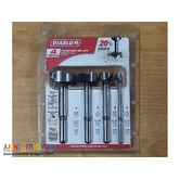 Freud FB-004S 4-piece Forstner Bit Set