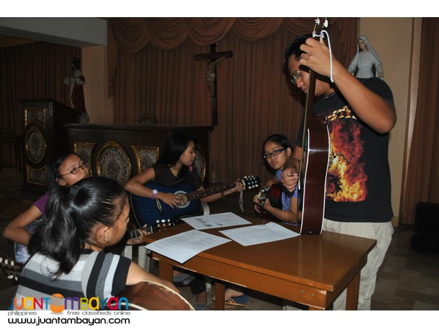 Guitar Lessons Home Service