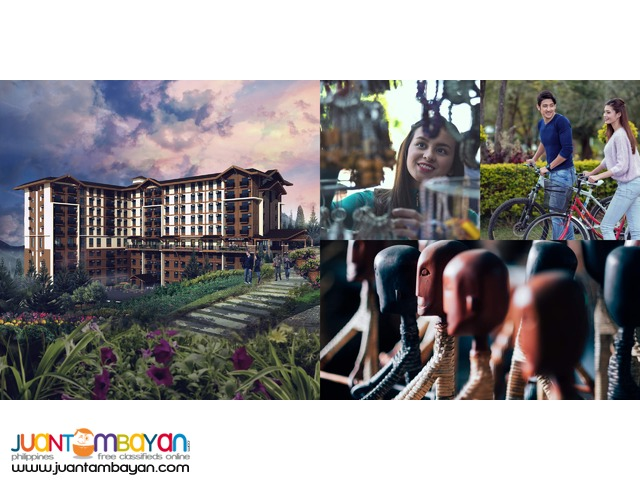 Vista Pinehill Pre-Selling Condo in Baguio 23K monthly