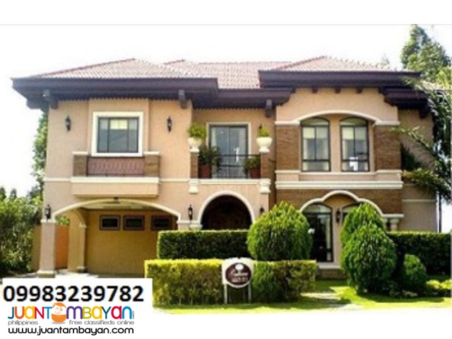 Ready for occupancy House and lot in Santa Rosa Laguna
