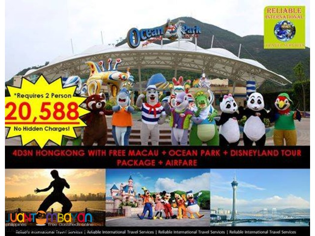 HONGKONG NEW PROMO with AIRFARE