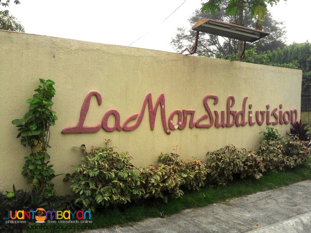 FOR SALE 2BR SINGLE ATTACHED LAMAR SUBD NEAR ROBINSON