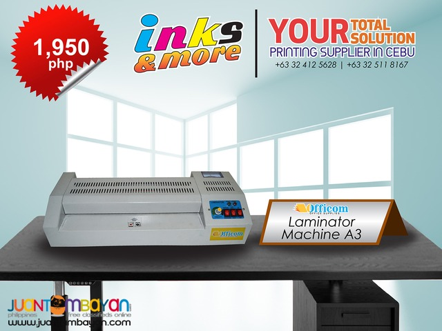 Personalized Printing Business - LAMINATOR MACHINE A3