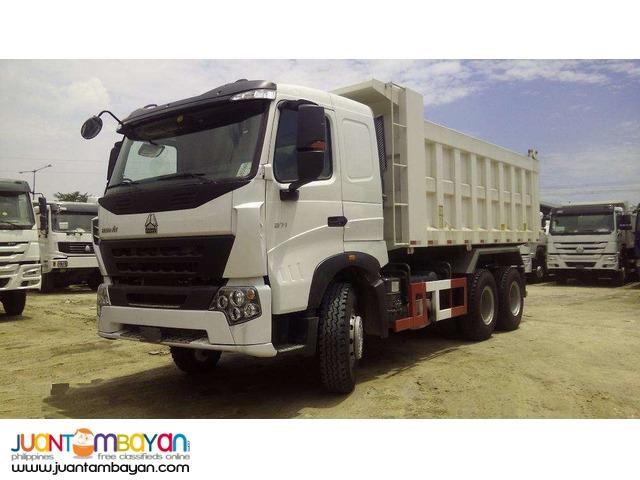 10 Wheeler HOWO-A7 Dump Truck  371HP  20m³