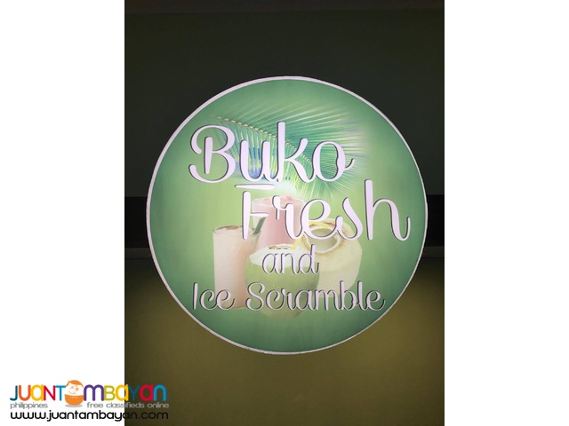 Buko ni Fruitas, Buko Fresh and Ice Scramble Food Cart Franchise