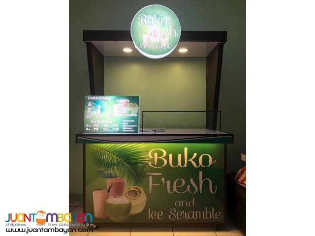 Buko ni Fruitas, Buko Fresh & Ice Scramble Food Cart Franchise
