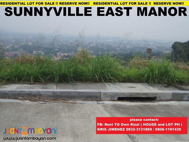 LOT for sale with upto 10% DISCOUNT at SUNNYVILLE