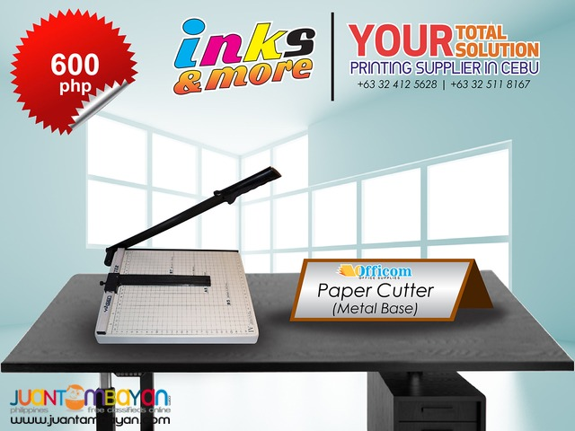Personalized Printing Business - PAPER CUTTER METAL BASE