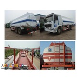 10 Wheeler HOWO Oil Truck, 371HP 20KL