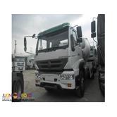 6 Wheeler C5B Huang He Mixer Truck  220HP 6m³