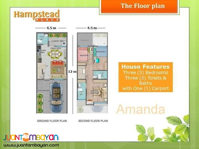 3BR HAMPSTEEAD HOUSE AND LOT FOR SALE WITH SWIMMING POOL