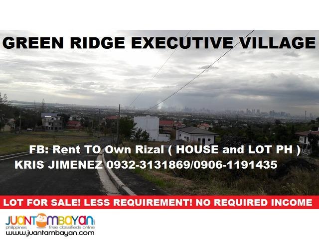 LOT for sale in BINANGONAN GREENRIDGE EXECUTIVE VILLAGE