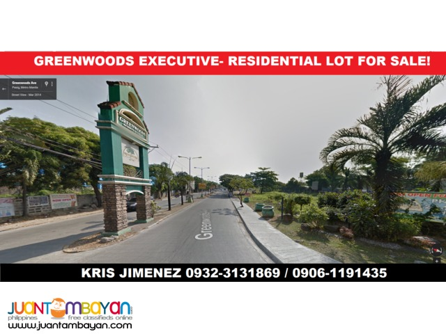 RESIDENTIAL LOT In GREENWOODS EXECUTIVE VILLAGE