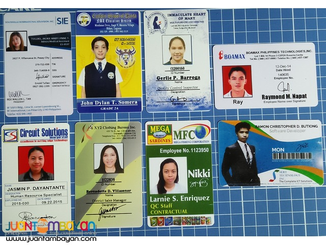 ID PRINTING, PROXIMITY CARD AND RFID CARDS FOR SCHOOLS AND COMPANY