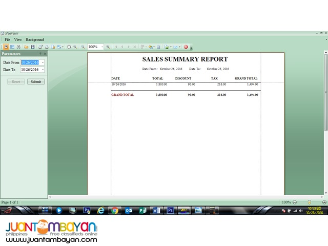 Inventory and Sales System for Cosmetics