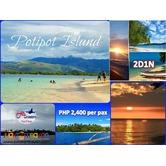 2D1N Potipot Island, 2D1N Calaguas Island Tour Package