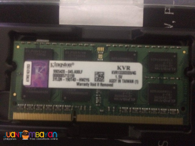 Laptop Memory 4gb