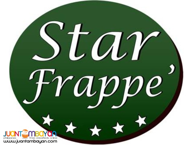 Star Frappe' Kiosk For SM, ROBINSON PHP 250,000.00