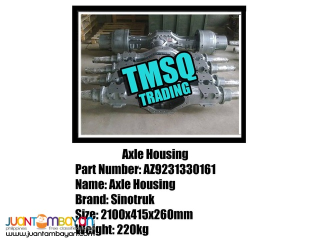SPARE PARTS Trucks and Heavy Equipment spare parts HOWO brand new