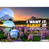 3D2N I want it. ALBAY it Promo