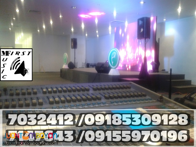 AFFORDABLE BASIC MOBILE SOUND LIGHTS SYSTEM RENTAL@09185309128