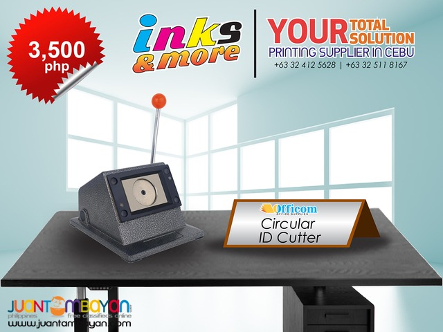Personalized Printing Business - CIRCULAR ID CUTTER