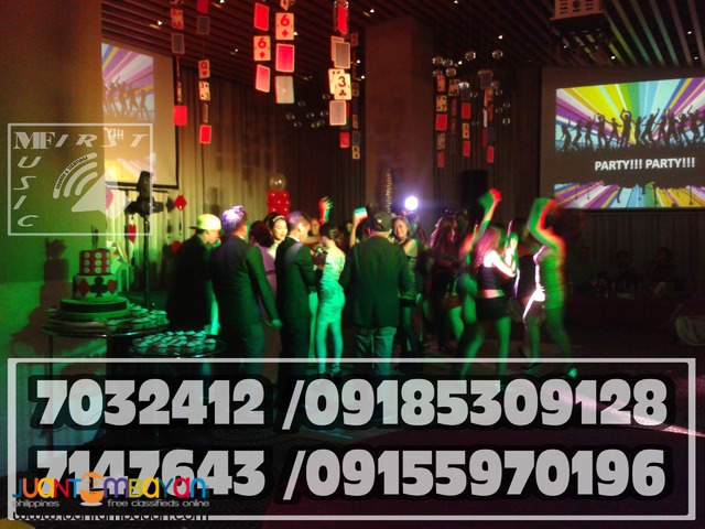 PARTY MUSIC DJ,AUDIO LIGHTINGS,SMOKE MACHINE RENTAL@09155970196