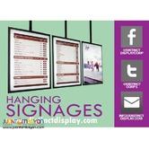 Customized Hanging Signage