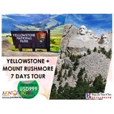 Yellowstone & Mt. Rushmore 7 Days Tour